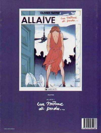 Couverture Allaïve tome 2 - Un bonheur de drôle... (éd. 1987)