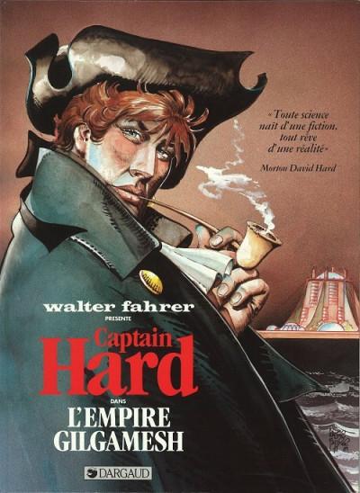 Couverture Captain Hard - L'Empire Gilgamesh (éd. 1989)