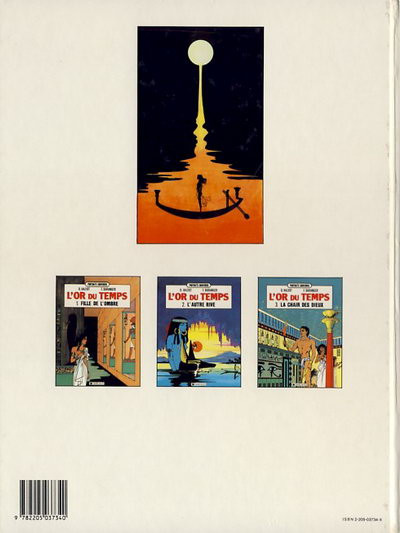 Couverture Or du temps (L') tome 2 - L'autre rive (éd. 1989)