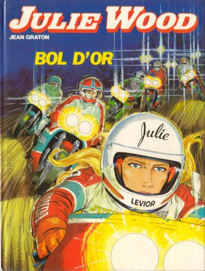 Couverture Julie Wood tome 8 - Bol d'or (éd. 1980)