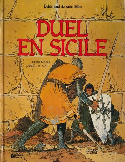 Couverture Bohémond de Saint-Gilles tome 3 - Duel en Sicile (éd. 1983)