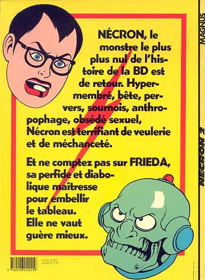 Couverture Necron tome 2 - Les Femmes Araignées (éd. 1985)
