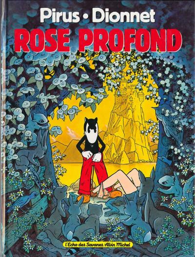Couverture Rose profond - Rose profond (éd. 1989)
