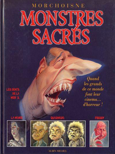 Couverture Monstres sacrés - Monstres Sacrés (éd. 1996)