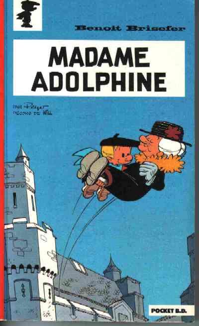 Couverture Benoît Brisefer tome 2 - Madame Adolphine (éd. 1990)
