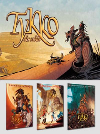 image de Tykko des sables tomes 1 à 3