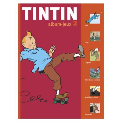 Page 0 tintin, album-jeux n.2