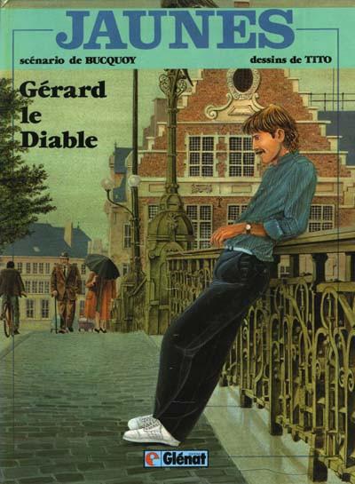 Couverture Jaunes tome 2 - Gérard le diable (éd. 1981)
