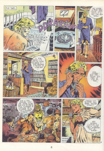 Couverture Frédéric Joubert (Les aventures de) tome 2 - Rapt en 24 images/seconde (éd. 1982)