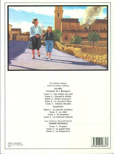 Couverture soledad tome 4 - la memoire blessee