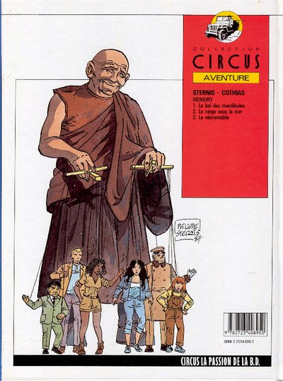Couverture Memory tome 3 - Le nécromobile (éd. 1987)