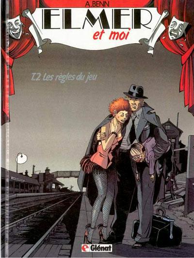 Couverture Elmer et moi tome 2 - Les règles du jeu (éd. 1990)