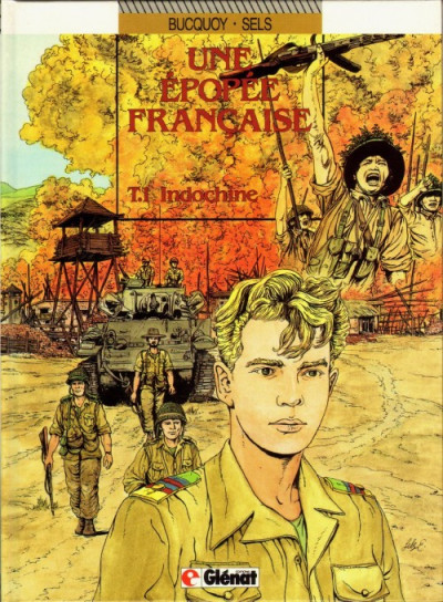 Couverture une epopee francaise tome 1