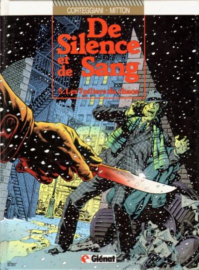 Couverture De silence et de sang tome 5 - Les 7 piliers du chaos