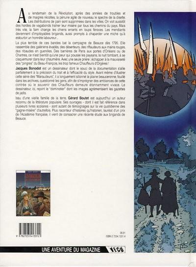 Couverture Les maraudeurs de la lune rousse tome 1 - Le carnaval des gueux