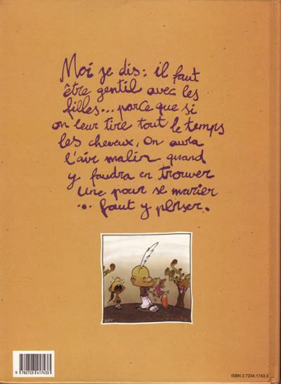 Couverture Titeuf tome 3 - Ça épate les filles... (éd. 1994)