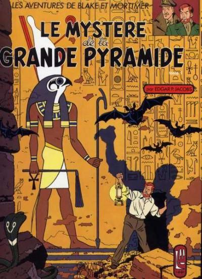 Couverture Blake et Mortimer (France Loisirs) tome 4 - Le Mystère de la Grande Pyramide - Tome 1 (éd. 1986)