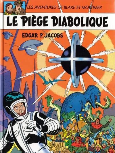 Couverture Blake et Mortimer (France Loisirs) tome 9 - Le piège diabolique (éd. 1990)