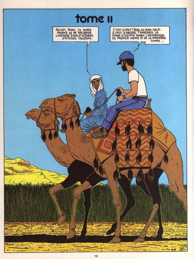 Couverture Marc Mathieu (Une aventure de) tome 2 - Le faucon de Mû (éd. 1981)