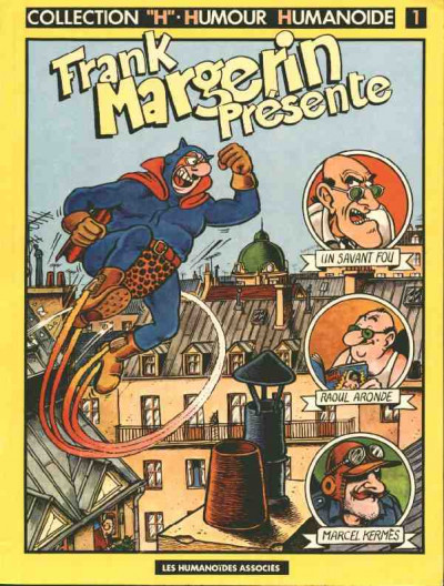Couverture Frank Margerin présente tome 1