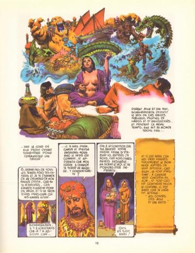 Couverture Mille et une nuits (Les) tome 1 - Les mille et une nuits (éd. 1982)