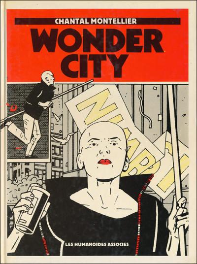 Couverture Wonder city - Wonder city (éd. 1983)