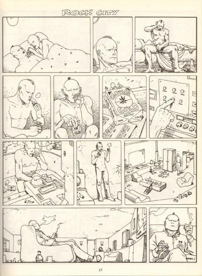 Couverture Moebius œuvres complètes tome 6 - Les Yeux du Chat, La Déviation (éd. 1985)