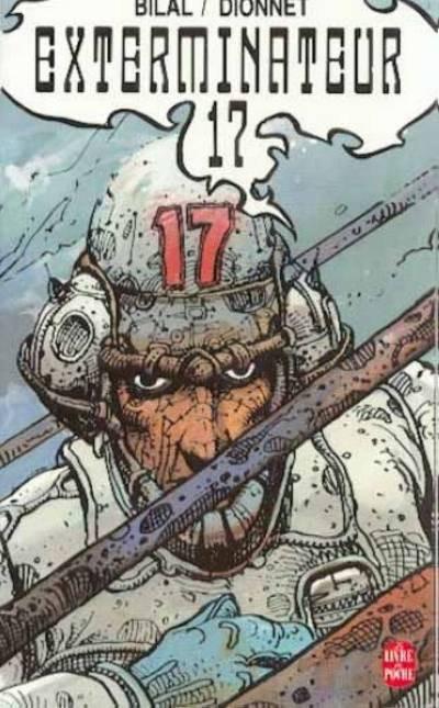 Couverture Exterminateur 17 - Exterminateur 17 (éd. 1987)