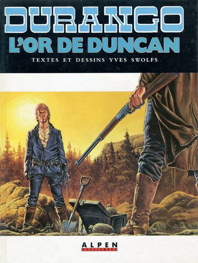 Couverture Durango tome 9 - L'or de Duncan (éd. 1990)