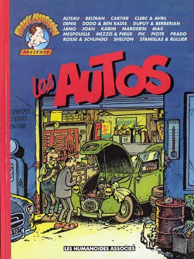 Couverture Frank Margerin présente tome 5 - Les autos