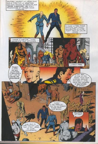 Couverture Monde du Garage Hermétique (Le) tome 5 - Le seigneur d'Onyx (éd. 1992)