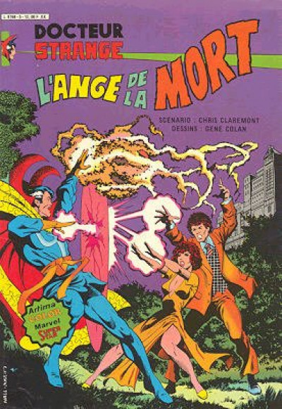 Couverture Docteur Strange tome 5 - L'ange de la mort (éd. 1982)
