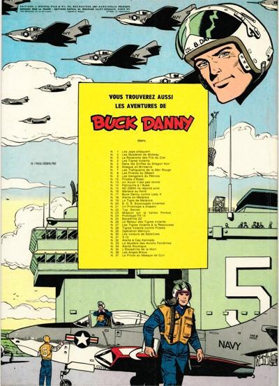 Couverture Buck Danny tome 8 - Les pirates du désert