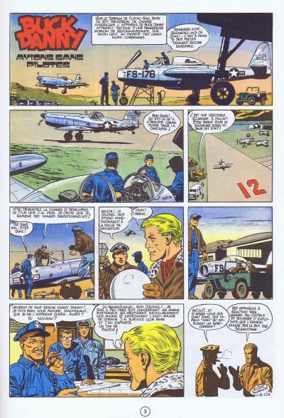 Couverture Buck Danny tome 12 - Avions sans pilotes