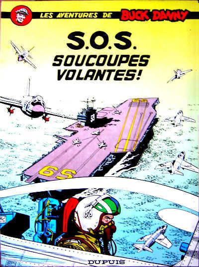 Couverture Buck Danny tome 20 - S.O.S. soucoupes volantes !