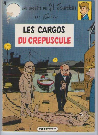 Couverture Gil Jourdan tome 4 - Les cargos du crépuscule (éd. 1967)