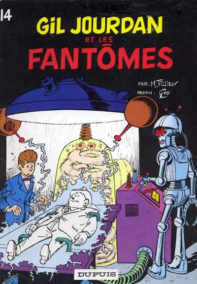 Couverture Gil Jourdan tome 14 - Gil Jourdan et les fantômes (éd. 1972)