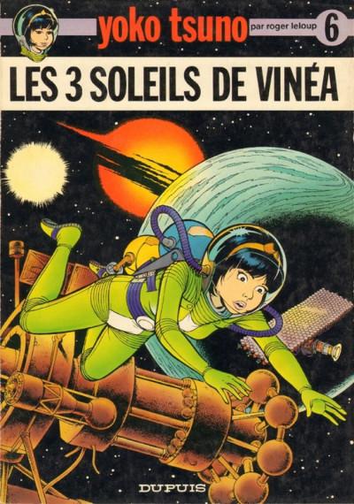 Couverture Yoko Tsuno tome 6 - Les 3 soleils de Vinéa