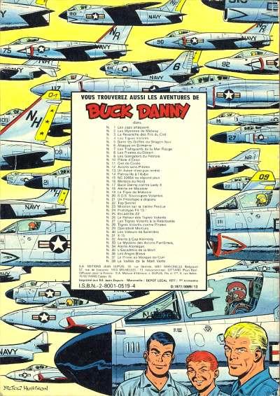 Couverture Buck Danny tome 39 - Requins en mer de Chine