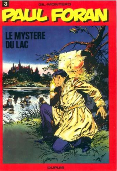Couverture Paul Foran tome 3 - Le mystère du lac (éd. 1978)