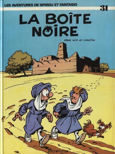Couverture Spirou et Fantasio tome 31 - La boîte noire