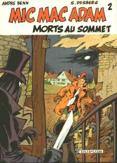 Couverture Mic Mac Adam tome 2 - Morts au sommet (éd. 1985)