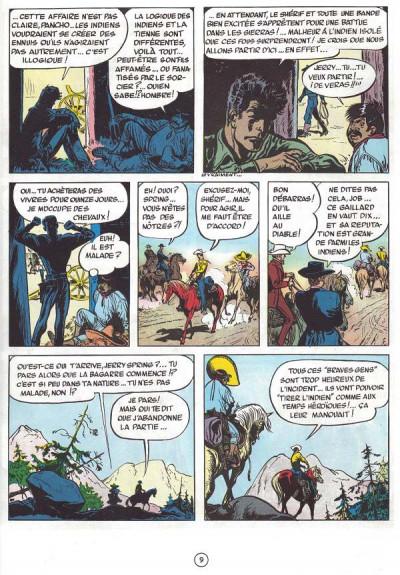 Couverture Jerry Spring tome 5 - La passe des indiens