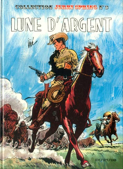 Couverture Jerry Spring tome 3 - Lune d'argent