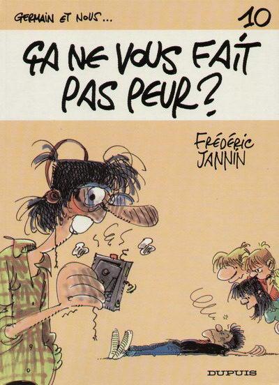 Couverture Germain et nous... tome 10 - Ca ne vous fait pas peur ? (éd. 1987)