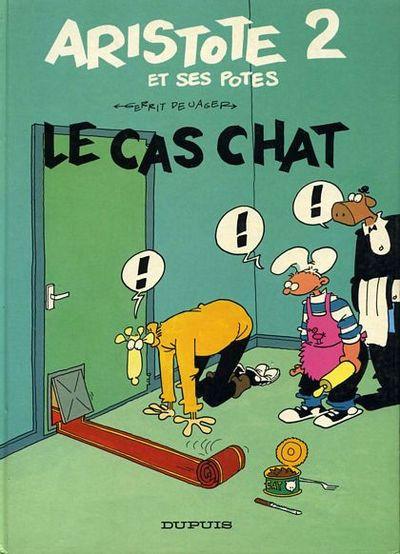 Couverture Aristote et ses Potes tome 2 - Le cas chat (éd. 1987)