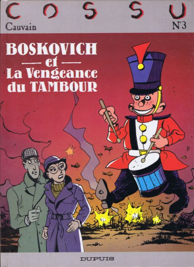 Couverture Boskovich tome 2 - et la vengeance du tambour