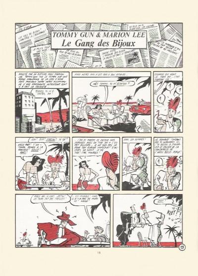 Couverture Tommy Gun et Marion Lee (Les Aventures de) - Les aventures de Tommy Gun et Marion Lee (éd. 1983)