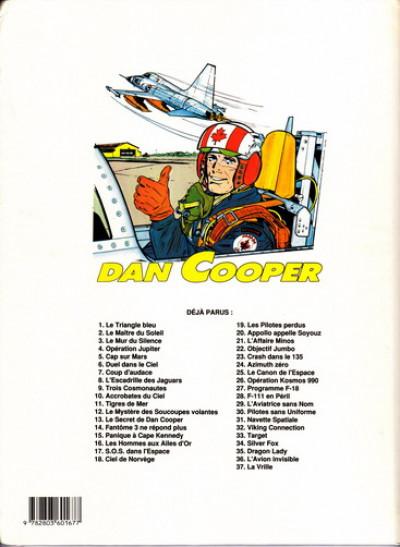 Couverture Les aventures de Dan Cooper tome 16 - SOS dans l'espace