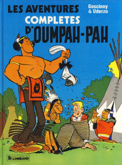 Couverture Oumpah-Pah - Les aventures complètes d'oumpah-pah (éd. 1983)